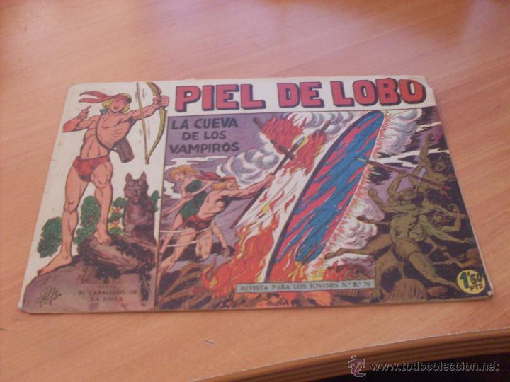Tebeos: PIEL DE LOBO LOTE 51 EJEMPLARES (ED. MAGA. ORIGINAL) (CLA17) - Foto 39 - 48659188