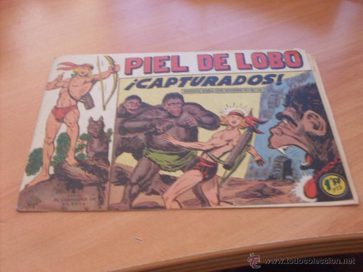 Tebeos: PIEL DE LOBO LOTE 51 EJEMPLARES (ED. MAGA. ORIGINAL) (CLA17) - Foto 41 - 48659188