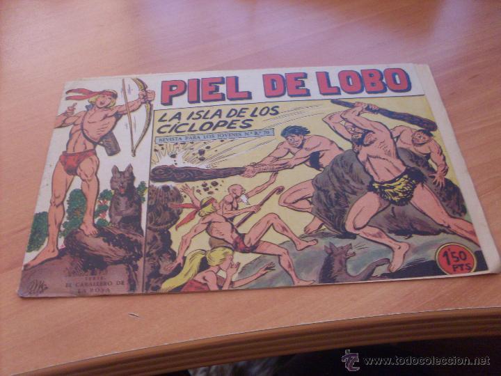 Tebeos: PIEL DE LOBO LOTE 51 EJEMPLARES (ED. MAGA. ORIGINAL) (CLA17) - Foto 45 - 48659188