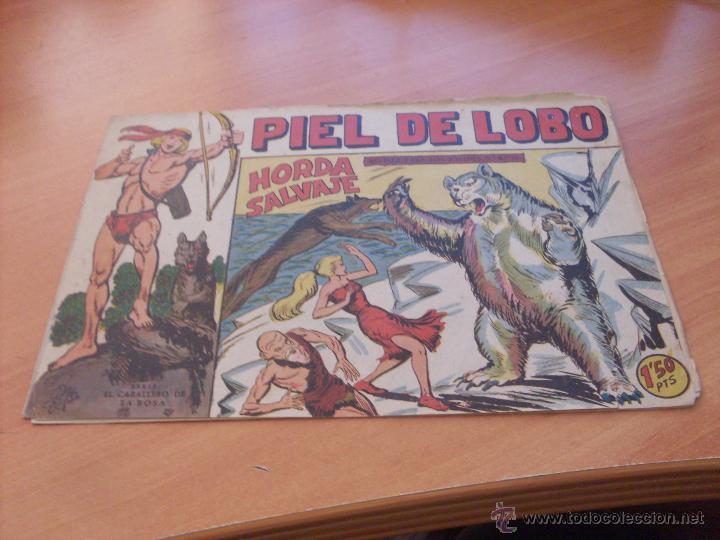 Tebeos: PIEL DE LOBO LOTE 51 EJEMPLARES (ED. MAGA. ORIGINAL) (CLA17) - Foto 47 - 48659188