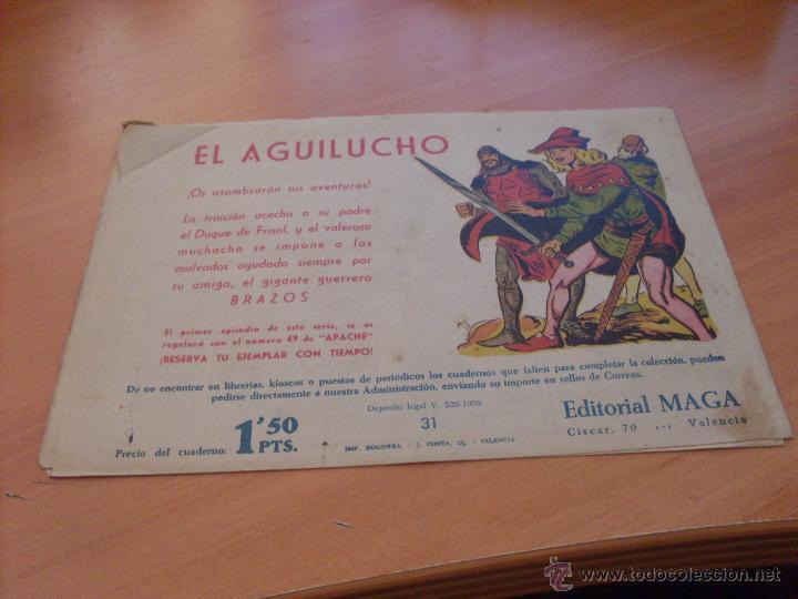 Tebeos: PIEL DE LOBO LOTE 51 EJEMPLARES (ED. MAGA. ORIGINAL) (CLA17) - Foto 48 - 48659188