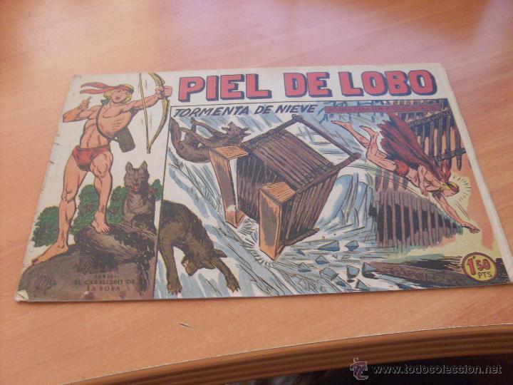 Tebeos: PIEL DE LOBO LOTE 51 EJEMPLARES (ED. MAGA. ORIGINAL) (CLA17) - Foto 49 - 48659188