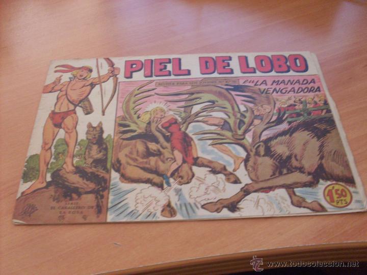 Tebeos: PIEL DE LOBO LOTE 51 EJEMPLARES (ED. MAGA. ORIGINAL) (CLA17) - Foto 51 - 48659188
