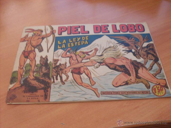 Tebeos: PIEL DE LOBO LOTE 51 EJEMPLARES (ED. MAGA. ORIGINAL) (CLA17) - Foto 53 - 48659188