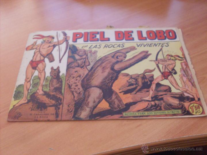 Tebeos: PIEL DE LOBO LOTE 51 EJEMPLARES (ED. MAGA. ORIGINAL) (CLA17) - Foto 55 - 48659188