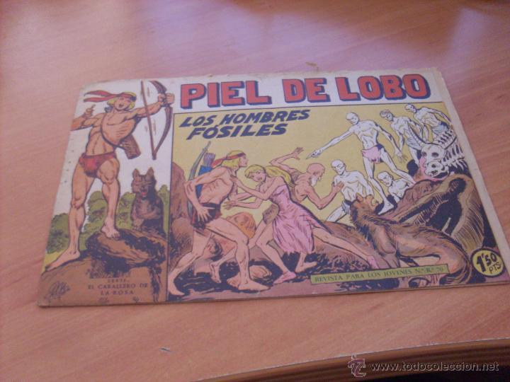 Tebeos: PIEL DE LOBO LOTE 51 EJEMPLARES (ED. MAGA. ORIGINAL) (CLA17) - Foto 57 - 48659188