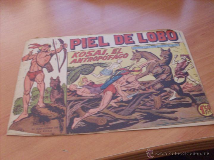 Tebeos: PIEL DE LOBO LOTE 51 EJEMPLARES (ED. MAGA. ORIGINAL) (CLA17) - Foto 59 - 48659188