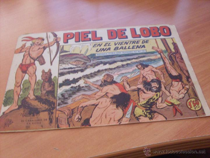 Tebeos: PIEL DE LOBO LOTE 51 EJEMPLARES (ED. MAGA. ORIGINAL) (CLA17) - Foto 61 - 48659188