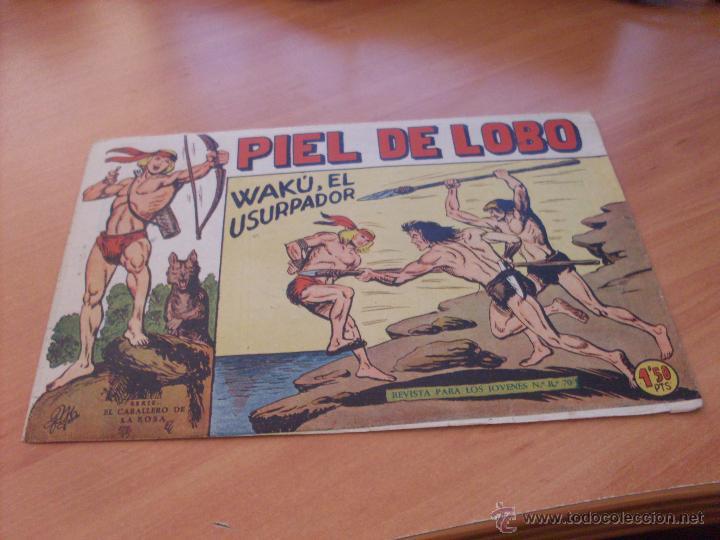 Tebeos: PIEL DE LOBO LOTE 51 EJEMPLARES (ED. MAGA. ORIGINAL) (CLA17) - Foto 63 - 48659188