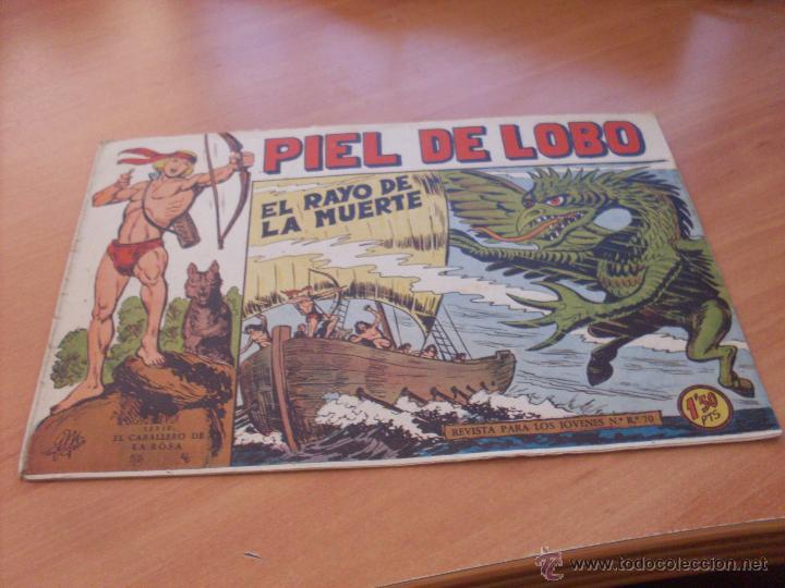 Tebeos: PIEL DE LOBO LOTE 51 EJEMPLARES (ED. MAGA. ORIGINAL) (CLA17) - Foto 67 - 48659188