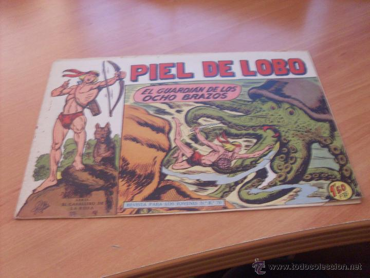 Tebeos: PIEL DE LOBO LOTE 51 EJEMPLARES (ED. MAGA. ORIGINAL) (CLA17) - Foto 71 - 48659188