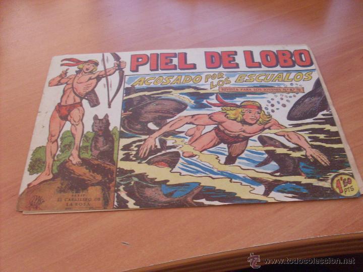 Tebeos: PIEL DE LOBO LOTE 51 EJEMPLARES (ED. MAGA. ORIGINAL) (CLA17) - Foto 73 - 48659188