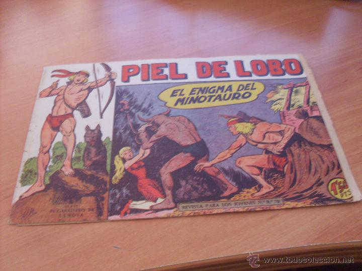 Tebeos: PIEL DE LOBO LOTE 51 EJEMPLARES (ED. MAGA. ORIGINAL) (CLA17) - Foto 75 - 48659188