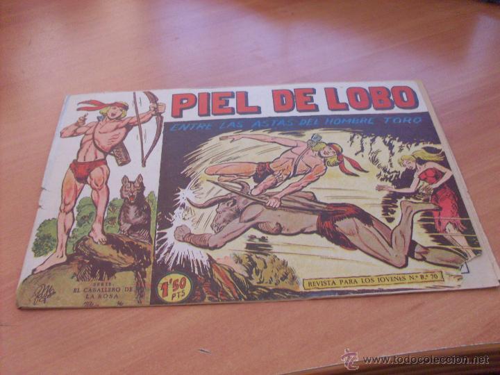 Tebeos: PIEL DE LOBO LOTE 51 EJEMPLARES (ED. MAGA. ORIGINAL) (CLA17) - Foto 77 - 48659188