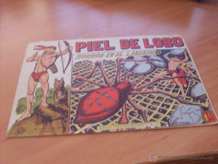 Tebeos: PIEL DE LOBO LOTE 51 EJEMPLARES (ED. MAGA. ORIGINAL) (CLA17) - Foto 79 - 48659188