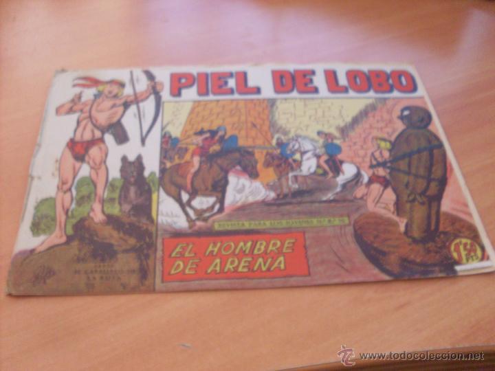 Tebeos: PIEL DE LOBO LOTE 51 EJEMPLARES (ED. MAGA. ORIGINAL) (CLA17) - Foto 83 - 48659188