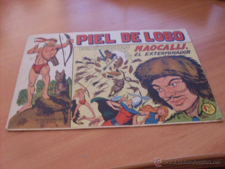 Tebeos: PIEL DE LOBO LOTE 51 EJEMPLARES (ED. MAGA. ORIGINAL) (CLA17) - Foto 85 - 48659188