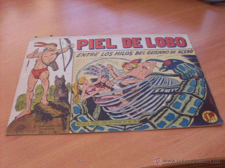 Tebeos: PIEL DE LOBO LOTE 51 EJEMPLARES (ED. MAGA. ORIGINAL) (CLA17) - Foto 95 - 48659188