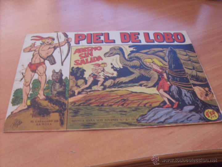 Tebeos: PIEL DE LOBO LOTE 51 EJEMPLARES (ED. MAGA. ORIGINAL) (CLA17) - Foto 101 - 48659188