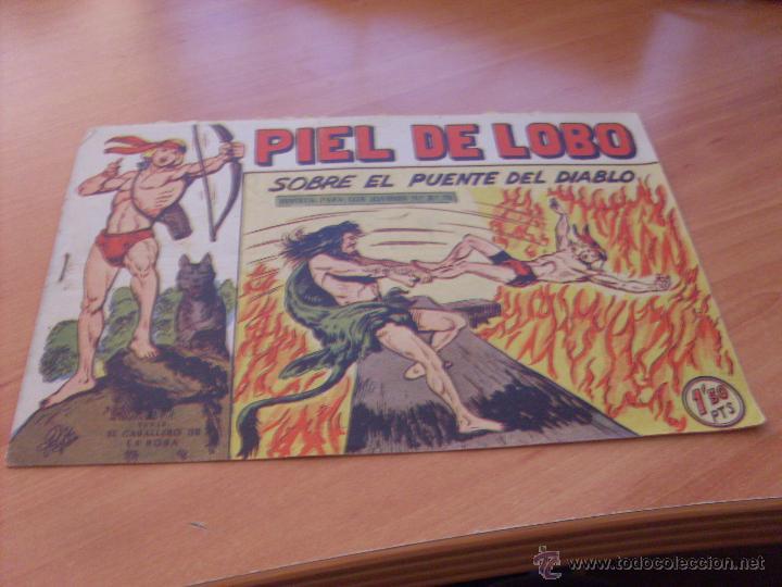 Tebeos: PIEL DE LOBO LOTE 51 EJEMPLARES (ED. MAGA. ORIGINAL) (CLA17) - Foto 103 - 48659188