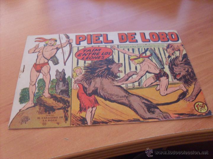 Tebeos: PIEL DE LOBO LOTE 51 EJEMPLARES (ED. MAGA. ORIGINAL) (CLA17) - Foto 105 - 48659188