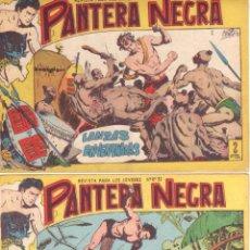 Tebeos: PANTERA NEGRA ORIGINAL EDITORIAL MAGA 1958 - 41 EJEMPLARES EN MUY BUEN ESTADO VER PORTADAS. Lote 48691437