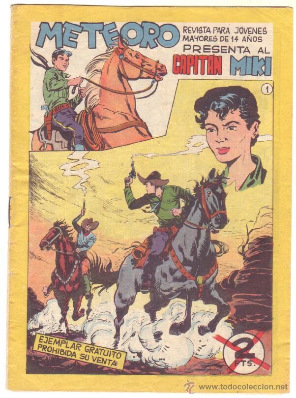 METEORO, EL CAPITAN MIKI, EL PEQUEÑO HEROE ORIGINAL MAGA 1964 - LOTE 45 TEBEOS MUY NUEVOS, ESTAN 1 Y (Tebeos y Comics - Maga - Pequeño Héroe)
