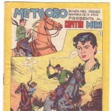 Tebeos: METEORO, EL CAPITAN MIKI, EL PEQUEÑO HEROE ORIGINAL MAGA 1964 - LOTE 45 TEBEOS MUY NUEVOS, ESTAN 1 Y. Lote 48691518