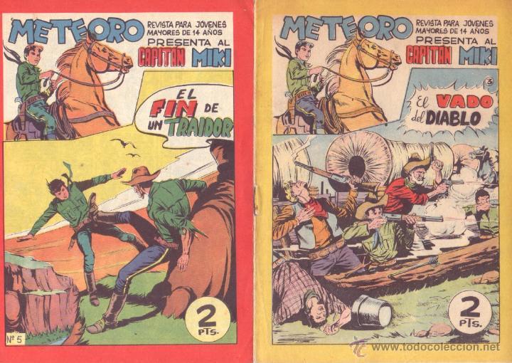 Tebeos: METEORO, EL CAPITAN MIKI, EL PEQUEÑO HEROE ORIGINAL MAGA 1964 - LOTE 45 TEBEOS MUY NUEVOS, ESTAN 1 Y - Foto 2 - 48691518
