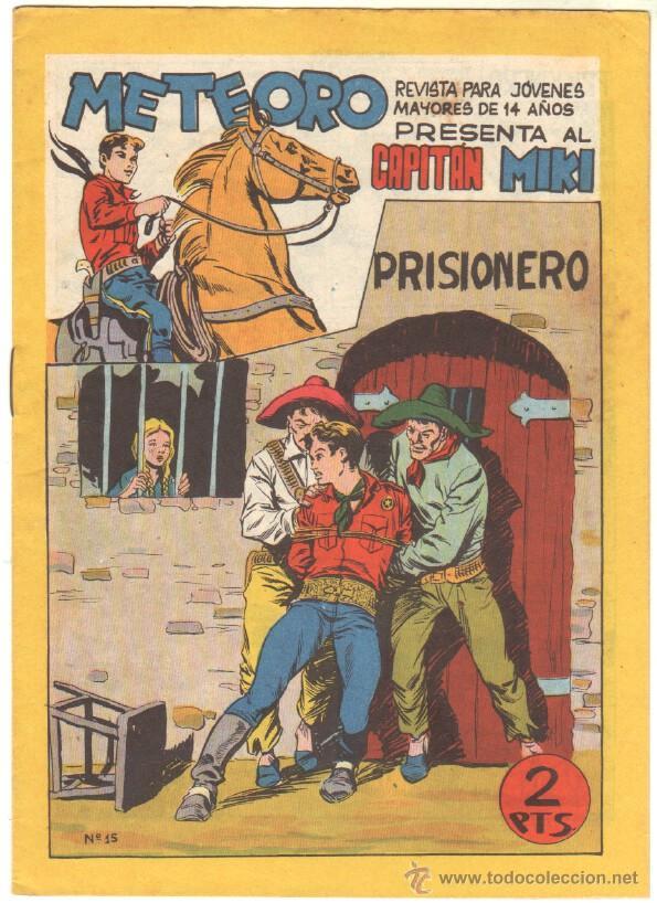 Tebeos: METEORO, EL CAPITAN MIKI, EL PEQUEÑO HEROE ORIGINAL MAGA 1964 - LOTE 45 TEBEOS MUY NUEVOS, ESTAN 1 Y - Foto 3 - 48691518