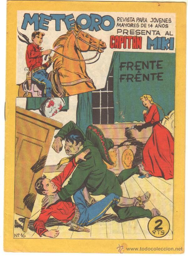 Tebeos: METEORO, EL CAPITAN MIKI, EL PEQUEÑO HEROE ORIGINAL MAGA 1964 - LOTE 45 TEBEOS MUY NUEVOS, ESTAN 1 Y - Foto 4 - 48691518