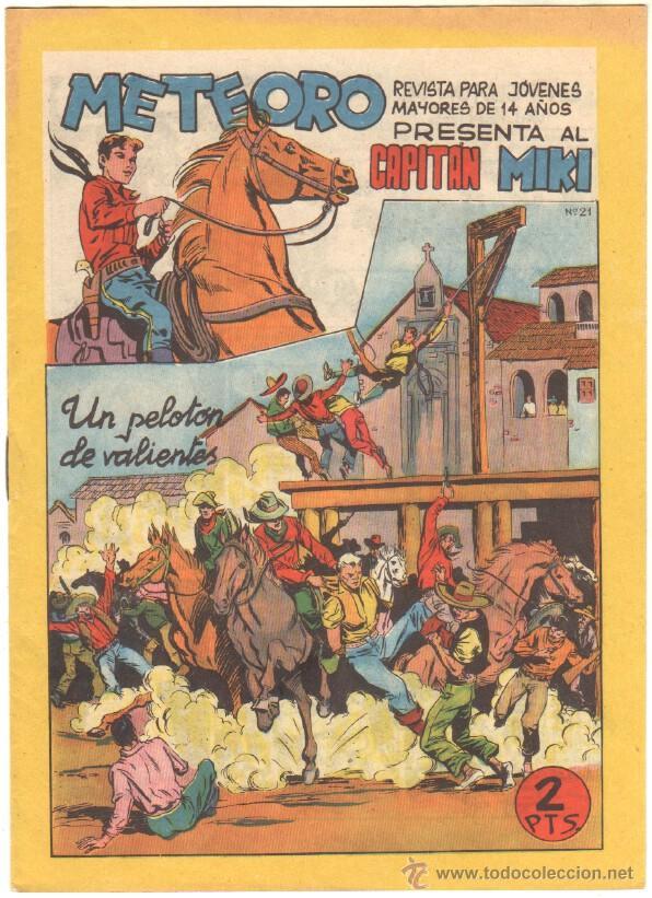 Tebeos: METEORO, EL CAPITAN MIKI, EL PEQUEÑO HEROE ORIGINAL MAGA 1964 - LOTE 45 TEBEOS MUY NUEVOS, ESTAN 1 Y - Foto 6 - 48691518
