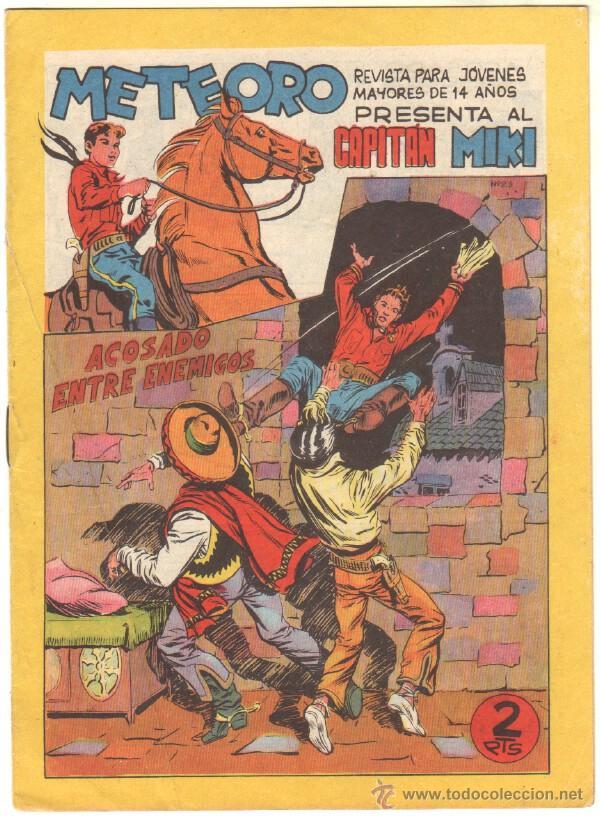 Tebeos: METEORO, EL CAPITAN MIKI, EL PEQUEÑO HEROE ORIGINAL MAGA 1964 - LOTE 45 TEBEOS MUY NUEVOS, ESTAN 1 Y - Foto 8 - 48691518