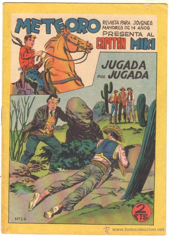 Tebeos: METEORO, EL CAPITAN MIKI, EL PEQUEÑO HEROE ORIGINAL MAGA 1964 - LOTE 45 TEBEOS MUY NUEVOS, ESTAN 1 Y - Foto 10 - 48691518