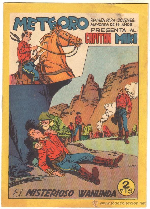 Tebeos: METEORO, EL CAPITAN MIKI, EL PEQUEÑO HEROE ORIGINAL MAGA 1964 - LOTE 45 TEBEOS MUY NUEVOS, ESTAN 1 Y - Foto 11 - 48691518