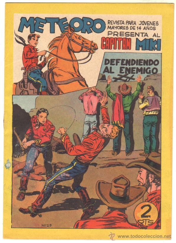 Tebeos: METEORO, EL CAPITAN MIKI, EL PEQUEÑO HEROE ORIGINAL MAGA 1964 - LOTE 45 TEBEOS MUY NUEVOS, ESTAN 1 Y - Foto 12 - 48691518
