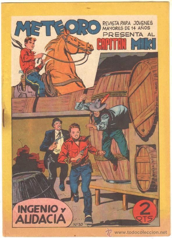 Tebeos: METEORO, EL CAPITAN MIKI, EL PEQUEÑO HEROE ORIGINAL MAGA 1964 - LOTE 45 TEBEOS MUY NUEVOS, ESTAN 1 Y - Foto 13 - 48691518