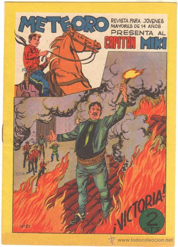Tebeos: METEORO, EL CAPITAN MIKI, EL PEQUEÑO HEROE ORIGINAL MAGA 1964 - LOTE 45 TEBEOS MUY NUEVOS, ESTAN 1 Y - Foto 14 - 48691518