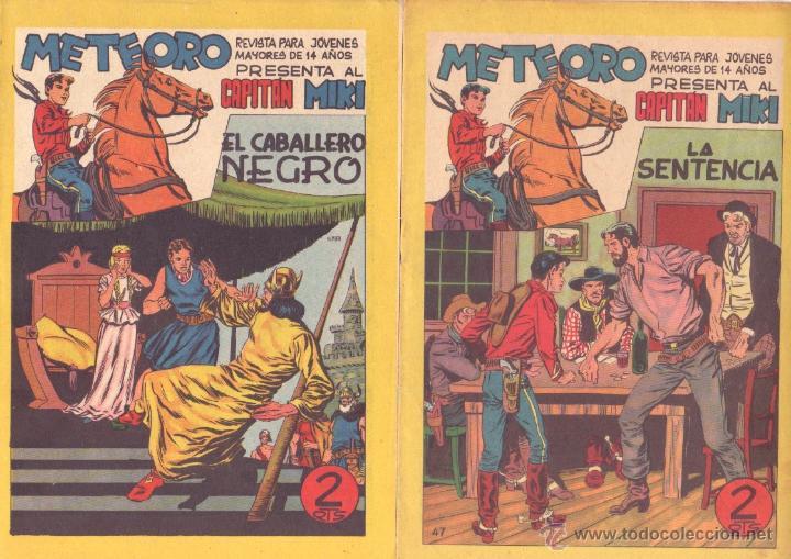 Tebeos: METEORO, EL CAPITAN MIKI, EL PEQUEÑO HEROE ORIGINAL MAGA 1964 - LOTE 45 TEBEOS MUY NUEVOS, ESTAN 1 Y - Foto 15 - 48691518