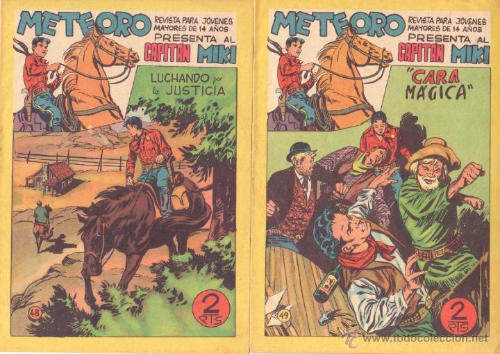 Tebeos: METEORO, EL CAPITAN MIKI, EL PEQUEÑO HEROE ORIGINAL MAGA 1964 - LOTE 45 TEBEOS MUY NUEVOS, ESTAN 1 Y - Foto 16 - 48691518