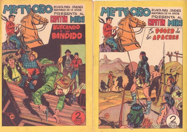 Tebeos: METEORO, EL CAPITAN MIKI, EL PEQUEÑO HEROE ORIGINAL MAGA 1964 - LOTE 45 TEBEOS MUY NUEVOS, ESTAN 1 Y - Foto 17 - 48691518