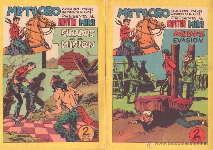 Tebeos: METEORO, EL CAPITAN MIKI, EL PEQUEÑO HEROE ORIGINAL MAGA 1964 - LOTE 45 TEBEOS MUY NUEVOS, ESTAN 1 Y - Foto 18 - 48691518