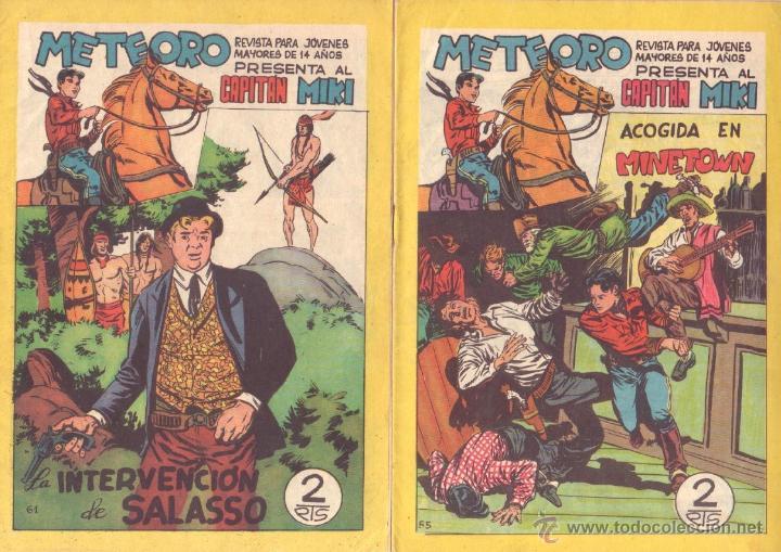 Tebeos: METEORO, EL CAPITAN MIKI, EL PEQUEÑO HEROE ORIGINAL MAGA 1964 - LOTE 45 TEBEOS MUY NUEVOS, ESTAN 1 Y - Foto 19 - 48691518