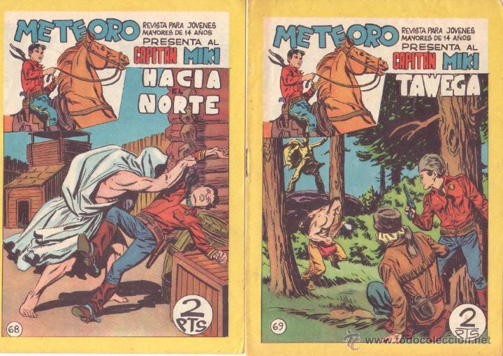 Tebeos: METEORO, EL CAPITAN MIKI, EL PEQUEÑO HEROE ORIGINAL MAGA 1964 - LOTE 45 TEBEOS MUY NUEVOS, ESTAN 1 Y - Foto 21 - 48691518