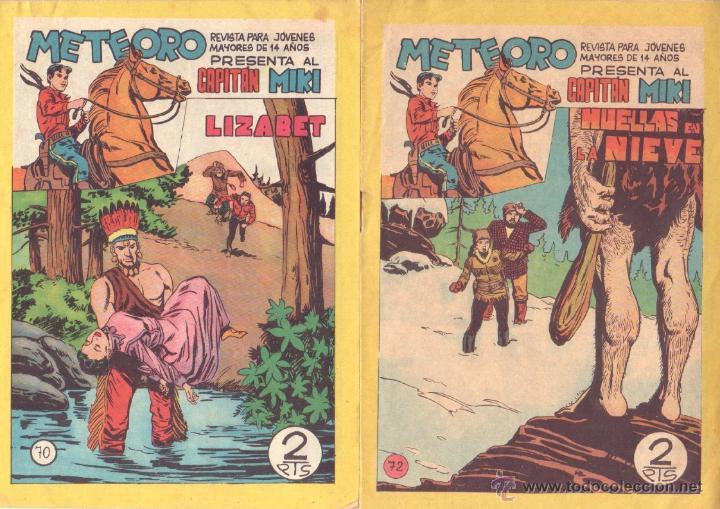 Tebeos: METEORO, EL CAPITAN MIKI, EL PEQUEÑO HEROE ORIGINAL MAGA 1964 - LOTE 45 TEBEOS MUY NUEVOS, ESTAN 1 Y - Foto 22 - 48691518