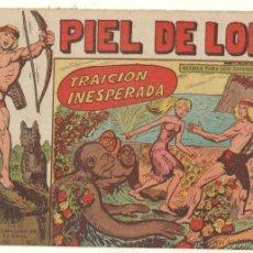 Tebeos: PIEL DE LOBO ORIGINAL Nº 61 EDITORIAL MAGA 1959 - . Lote 48691614