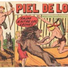 Tebeos: PIEL DE LOBO ORIGINAL Nº 66 EDITORIAL MAGA 1959 -. Lote 48691633
