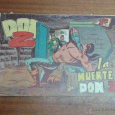Tebeos: DON Z Nº 45 / MAGA ORIGINAL. Lote 192960125