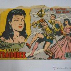 Tebeos: EL CAPITAN DON NADIE. DOS TRAIDORES. EDITORIAL MAGA. ORIGINAL. TDKC3. Lote 48966789