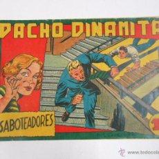 Tebeos: PACHO DINAMITA. Nº 18. SABOTEADORES. EDITORIAL MAGA. ORIGINAL. TDKC3. Lote 48974960